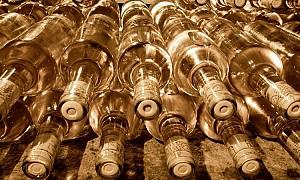 Etiketa víno z dovozu